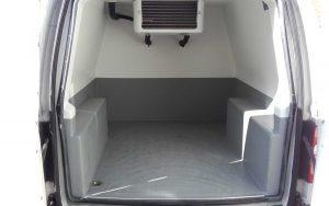 Inside a Refrigerated VW Caddy