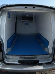 volkswagen transporter rear inside