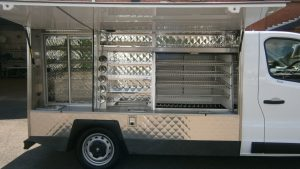 Hot and cold catering Jiffy Van