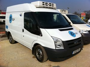 Cool Running Rental Refrigerated Van