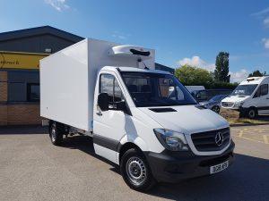 Mercedes Refrigerated Box Van
