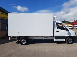 Mercedes Refrigerated Box Van