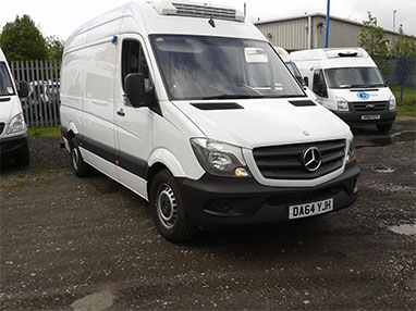 Refrigerated Mercedes Sprinter 313 MWB