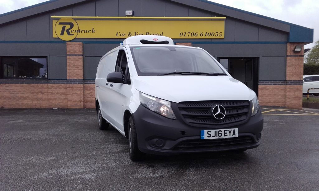 Refrigerated Mercedes Vito van
