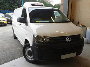 Refrigerated VW Transporter T32