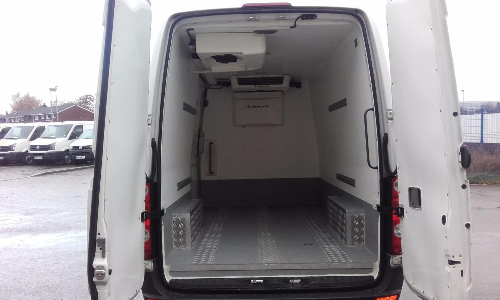 inside MWB Refrigerated Crafter