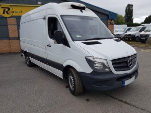 Mercedes-Benz Sprinter refrigerated pharmaceutical van