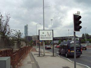 Manchester Regent Road Sign