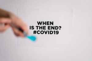 A covid 19 poster