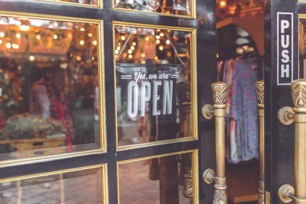 An open local shop