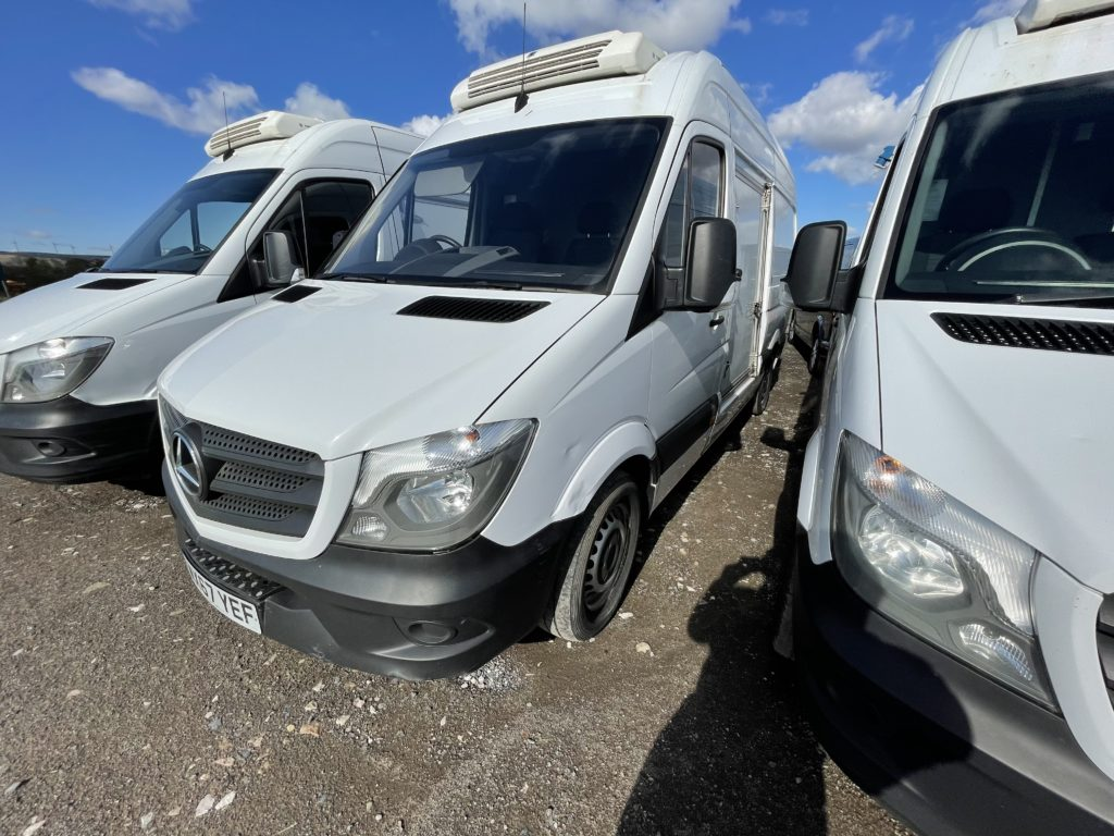 Cool running rental try before you buy a used refrigerated mercedes van